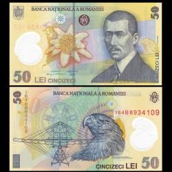 ROUMANIE - Billet de 50 Lei - Aurel Vlaicu - Polymer - 2016 P120f