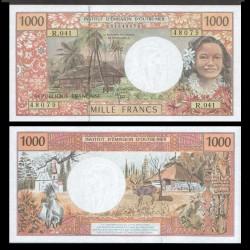 TERRITOIRES FRANÇAIS DU PACIFIQUE - Billet de 1000 Francs - 2010 / 2012