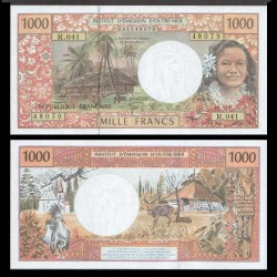 Territoires Français du Pacifique - Billet de 1000 Francs - 2007 P2k