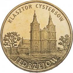POLOGNE - PIECE de 2 ZLOTE - Villes de Pologne: Jedrzejow - 2009