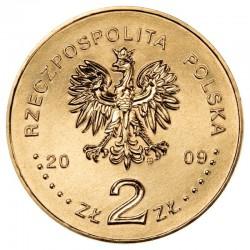 POLOGNE - PIECE de 2 ZLOTE - Villes de Pologne : Trzebnica - 2009