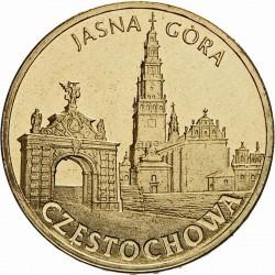 POLOGNE - PIECE de 2 ZLOTE - Villes de Pologne: Czestochowa - 2009