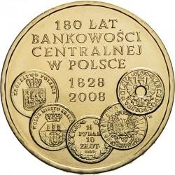 POLOGNE - PIECE de 2 ZLOTE - Création de la Banque Centrale - 2009