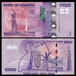 OUGANDA - Billet de 10000 Shillings - 2017 P52e