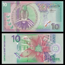 SURINAME - Billet de 10 Gulden - 2000
