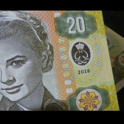MONACO - Billet de 20 Francs - Princesse Grace Kelly - POLYMER - 2018