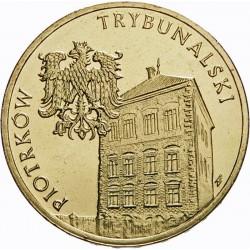 POLOGNE - PIECE de 2 ZLOTE - Villes de Pologne: Piotrkow Trybunalski - 2008