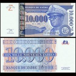 ZAIRE - Billet de 10000 Nouveaux Zaïres - 30.1.1995