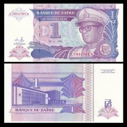 ZAIRE - Billet de 1 Nouveau Zaïre - 24.6.1993 P52a