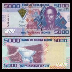 SIERRA LEONE - Billet de 5000 Leones - 27.04.2010 P32a