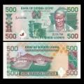 SIERRA LEONE - Billet de 500 Leones - 15.07.1998 P23b