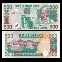 SIERRA LEONE - Billet de 500 Leones - 15.07.1998