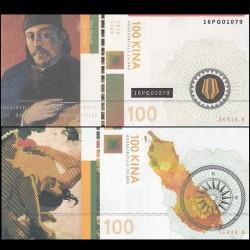 BOUGAINVILLE - Billet de 100 Kina - Série Peintres - Paul Gauguin - 2016 00100-2016