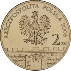 POLOGNE - PIECE de 2 ZLOTE - Villes de Pologne : Jaroslaw - 2006