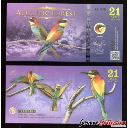 ATLANTIC FOREST - 21 AVES - 2016