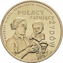 POLOGNE - PIECE de 2 ZLOTE - Les polonais sauveurs - 2012