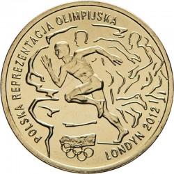 POLOGNE - PIECE de 2 ZLOTE - Jeux Olympiques de Londres - 2012