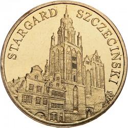 POLOGNE - PIECE de 2 ZLOTE - Villes de Pologne: Stargard Szczecinski - 2007