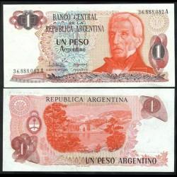 ARGENTINE - Billet de 1 Peso Argentino - 1983