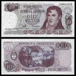 ARGENTINE - Billet de 10 Pesos - 1976 P300a