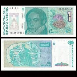 ARGENTINE - Billet de 1 Austral - 1985/1989
