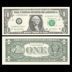 ETATS UNIS / USA - Billet de 1 DOLLAR - 2003A - K(11) Dallas