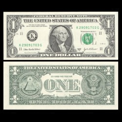 ETATS UNIS - Billet de 1 DOLLAR - 2003A - K(11) Dallas