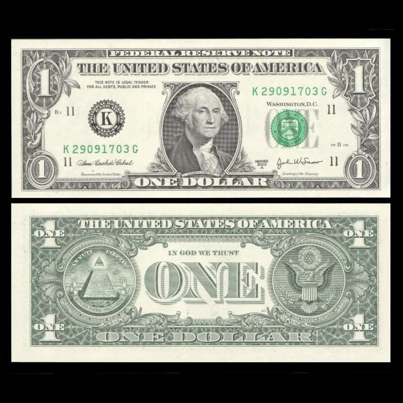 etats-unis-usa-billet-de-1-dollar-2003a-