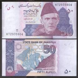 PAKISTAN - Billet de 50 Roupies - 2018