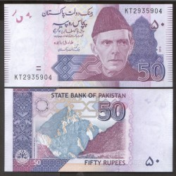 PAKISTAN - Billet de 50 Roupies - 2018 P47l