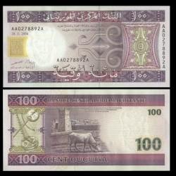 MAURITANIE - Billet de 100 Ouguiya - 2004