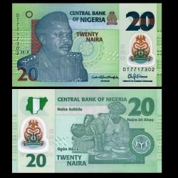 NIGERIA - Billet de 20 Naira - Polymer - 2018