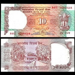 INDE - Billet de 10 Roupies - 1992 / 1996