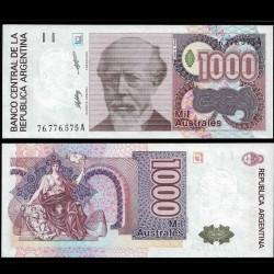 ARGENTINE - Billet de 1000 Australes - 1988/1990