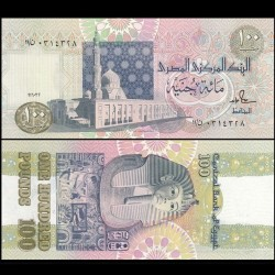 EGYPTE - Billet de 100 Pounds - Toutankhamon - 1992