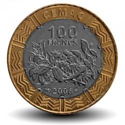 AFRIQUE CENTRALE / BEAC - PIECE de 100 FRANCS CFA - 2006