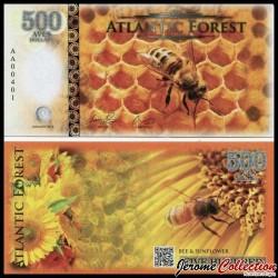 ATLANTIC FOREST - Billet de 500 Aves - Abeille - 2016 0500 AVES