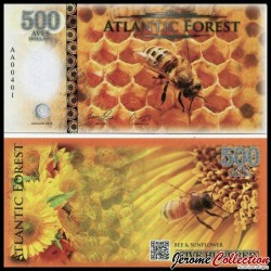 ATLANTIC FOREST - Billet de 500 Aves - Abeille - 2016