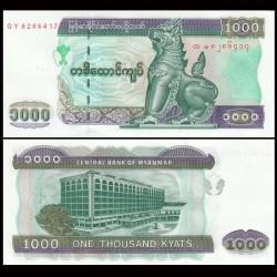MYANMAR (ex-Birmanie) - Billet de 1000 Kyats - 2004