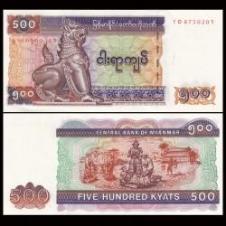 MYANMAR (ex-Birmanie) - Billet de 500 Kyats - 2004