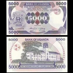 OUGANDA - Billet de 5000 Shillings - 1986 P24b