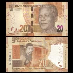 AFRIQUE DU SUD - Billet de 20 Rand - Centenaire de Mandela - 2018