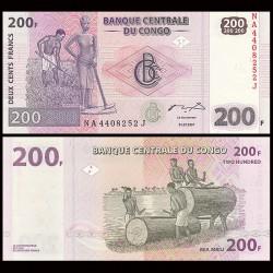CONGO - BILLET de 200 Francs - 2007