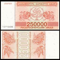 GEORGIE - Billet de 250000 Kuponi - Griffon - 1994