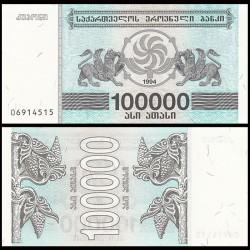 GEORGIE - Billet de 100000 Kuponi - Griffon - 1994