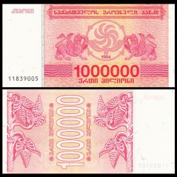 GEORGIE - Billet de 1000000 Kuponi - Griffon - 1994