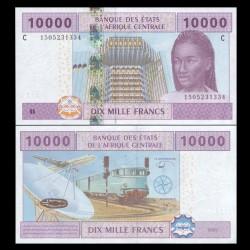 TCHAD - Billet de 10000 Francs - 2002 / 2018 P610Cc - Lettre C