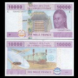 TCHAD - Billet de 10000 Francs - 2002 / 2016 P610Cc - Lettre C