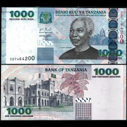 TANZANIE - Billet de 1000 Shillings - 2006 P36b