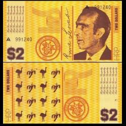 HUTT RIVER / AUSTRALIE - Billet de 2 Dollars - 1970 0002
